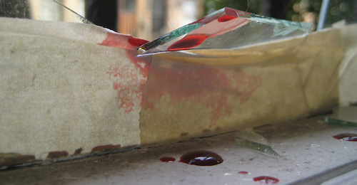 blood spill trauma cleaning